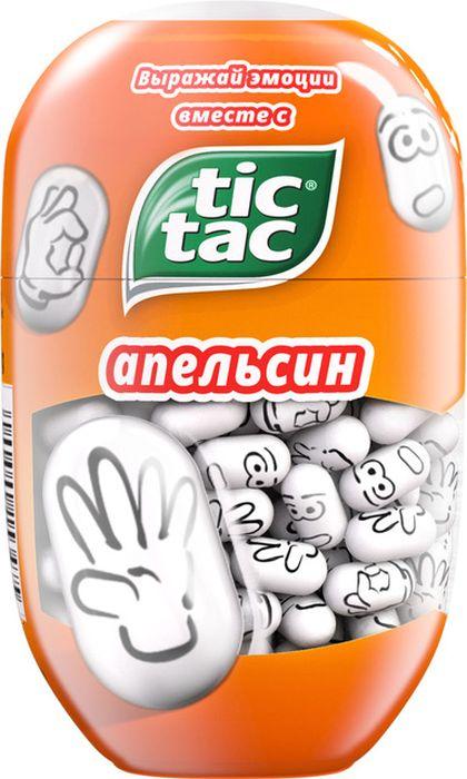 Tic Tac Эмоции драже апельсин, 98 г детские часы тик так н430 серые
