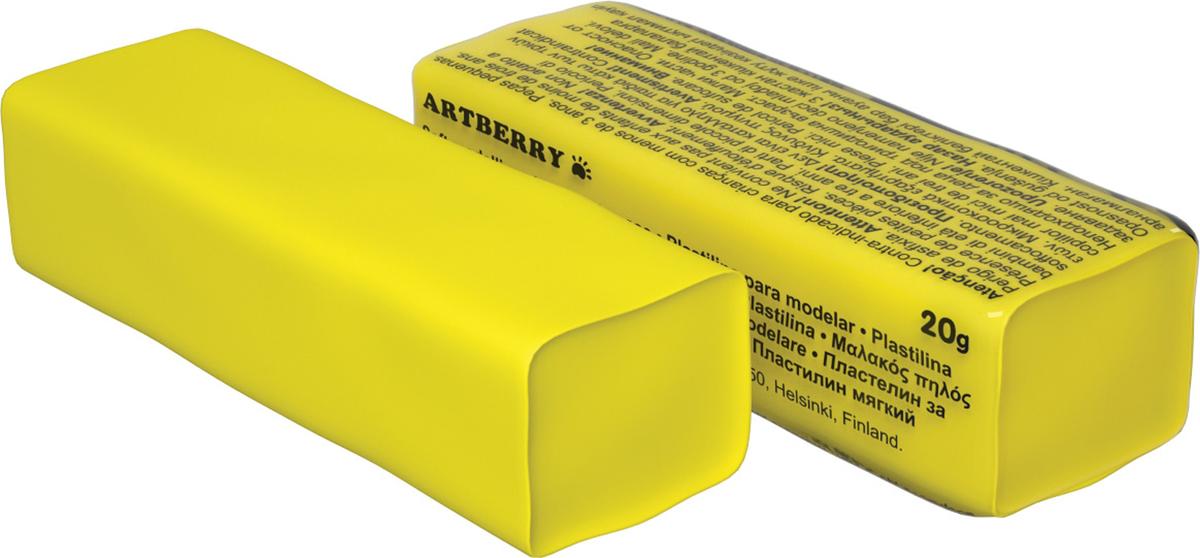 Erich Krause Пластилин мягкий Art Berry цвет желтый37281Мягкий пластилин безопасный и очень практичный материал для лепки, который идеально подходит для детей от 3 лет. Он не застывает на воздухе, не прилипает к рукам, не пачкает одежду. По сравнению с обычным школьным пластилином мягкий пластилин имеет более низкую температуру плав ления, что делает его исключительно удобным и податливым. Яркие и сочные цвета легко смешиваются между собой. Пластичная структура позволяет детям использовать его в технике рисования пластилином.Разноцветные брусочки мягкого пластилина весом 20г имеют индивидуальную упаковку со штрихкодом.