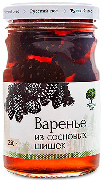 Русский лес Варенье из зеленых сосновых шишек, 250 г линия здоровья варенье клюквенное 360 г