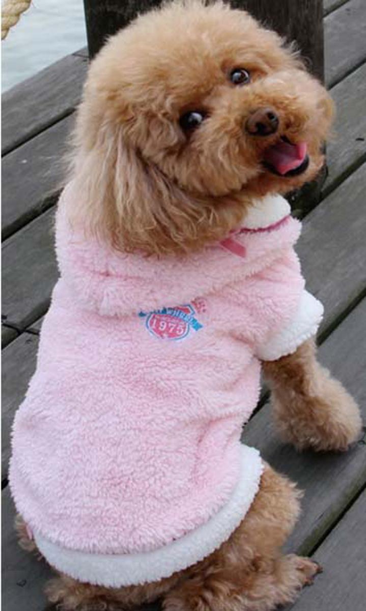 Фото - Куртка для собак Dobaz, цвет: розовый. ДА13059АЛ. Размер L trixie стойка с мисками trixie для собак 2х1 8 л