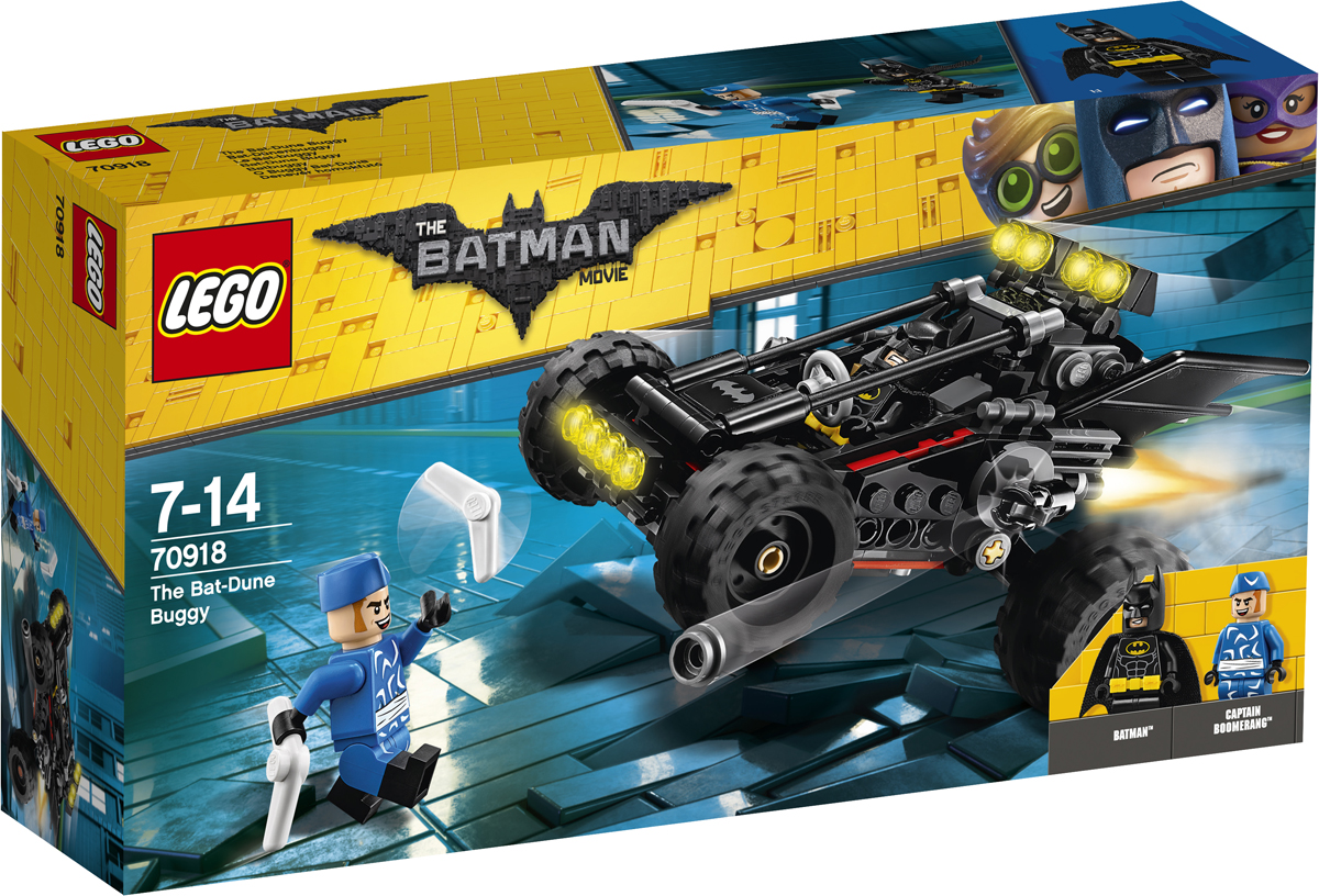 LEGO Batman Movie Конструктор Пустынный багги Бэтмена 70918