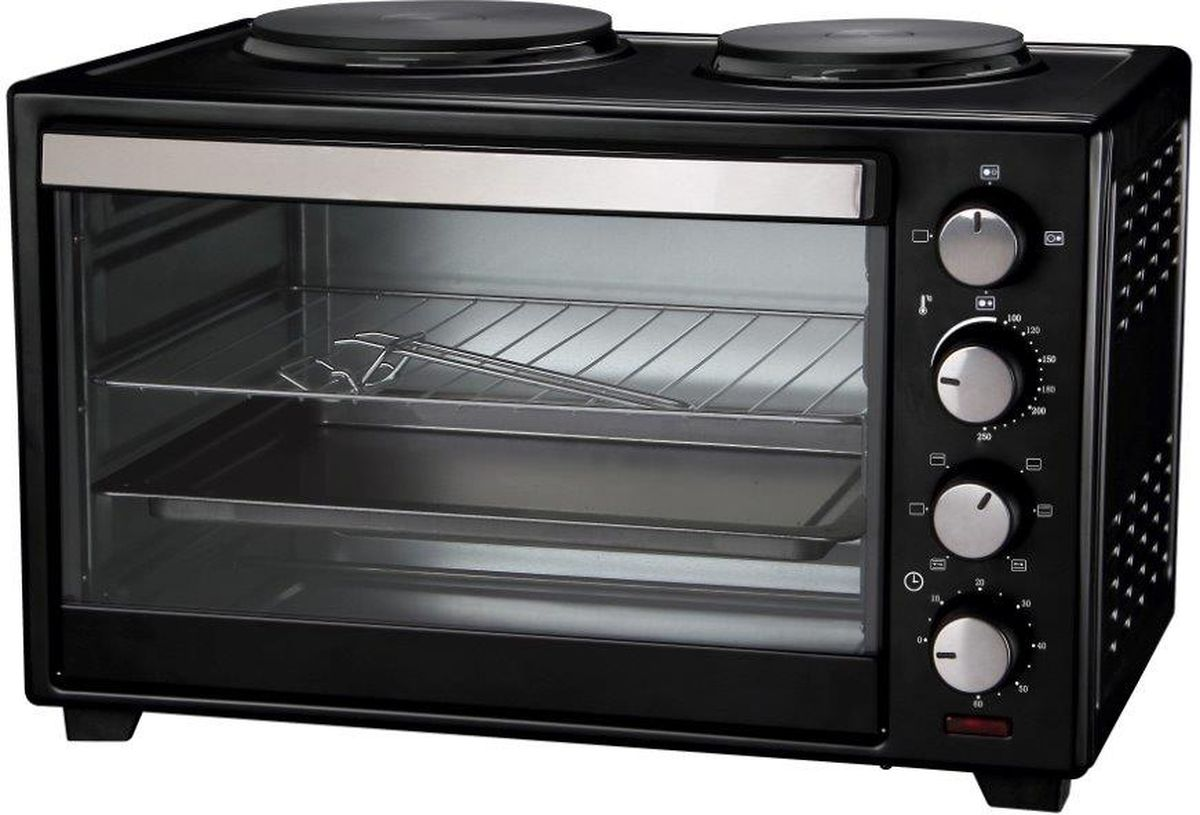 Tesler EOGP-3000, Black мини-печь - Мини-печи