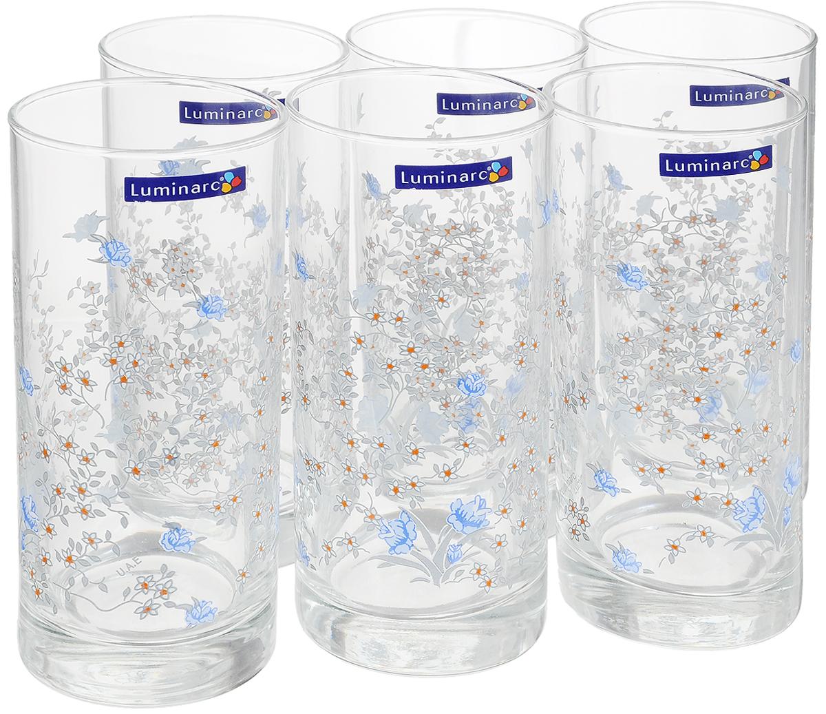 Набор стаканов Luminarc Romantique, 270 мл, 6 шт набор стаканов luminarc новая америка 350 мл 6 шт