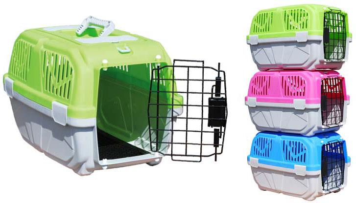 Переноска для животных №1ДПр1079Удобная стильная пластиковая переноска для мелких животных станет комфортным домом для Вашего питомца на время поездки.№1 Переноска пластиковая для животных