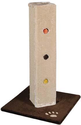 Когтеточка-столбик  Уют , прямоугольная, 45 х 45 х 80 см - Когтеточки и игровые комплексы