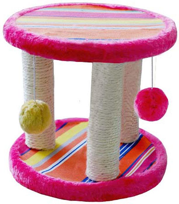 Когтеточка-катушка  Уют , сизалевая, 25 х 25 х 22 см - Когтеточки и игровые комплексы
