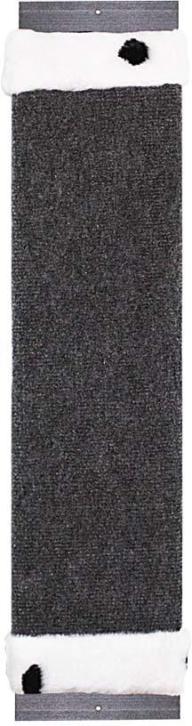 Когтеточка навесная Уют, ковролин, цвет: коричневый, серый, 72 х 17 х 5 см2Когтеточка навесная Уют выполнена из ковролина. Всем кошкам необходимо точить когти. Чтобы уберечь вашу мебель и ковры от посягательств, кошке нужна когтеточка. Подвешивать когтеточку необходимо на такой высоте, чтобы кошка могла встать на задние лапы и полностью вытянуть вверх передние. Для приучения к когтеточке ее можно натереть валерианой или кошачьей мятой.