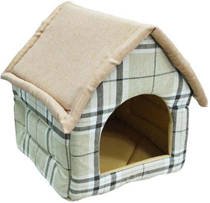 Домик для животных Уют Fashion, цвет: газета, 37 х 35 х 37 смСКЛ09Как известно, животные любят прятаться в самые укромные места в доме, особенно, если они не желают, чтобы кто-то нарушал их покой.Такая мягкая и уютная будка-домик из практичных тёплых тканей придётся вашему любимцу по вкусу. Как правило, питомцы выбирают одно-два места для отдыха - вот туда и поставьте домик.УЮТ FASHION домик поролон, холст, рисунок газета