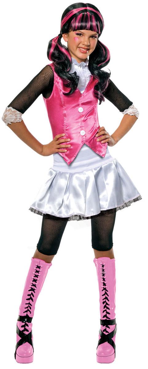 Rubie's Карнавальный костюм для девочки Дракулаура размер 104 (3-4 года) кулон 3 4 цвет 104 без подвеса