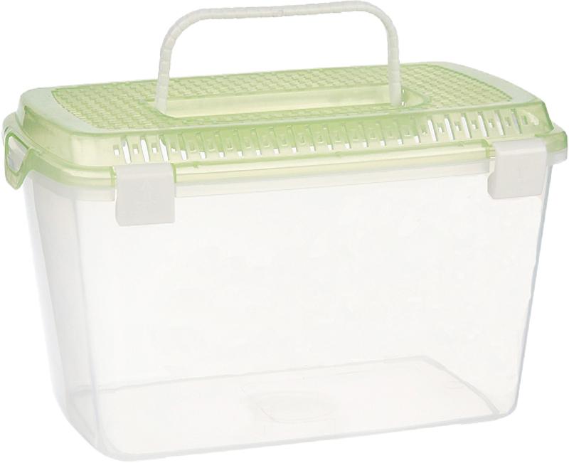 Переноска для мелких животных №1, пластиковая, размер M переноска дарэлл корзина 1 пластиковая 36 5 26 20