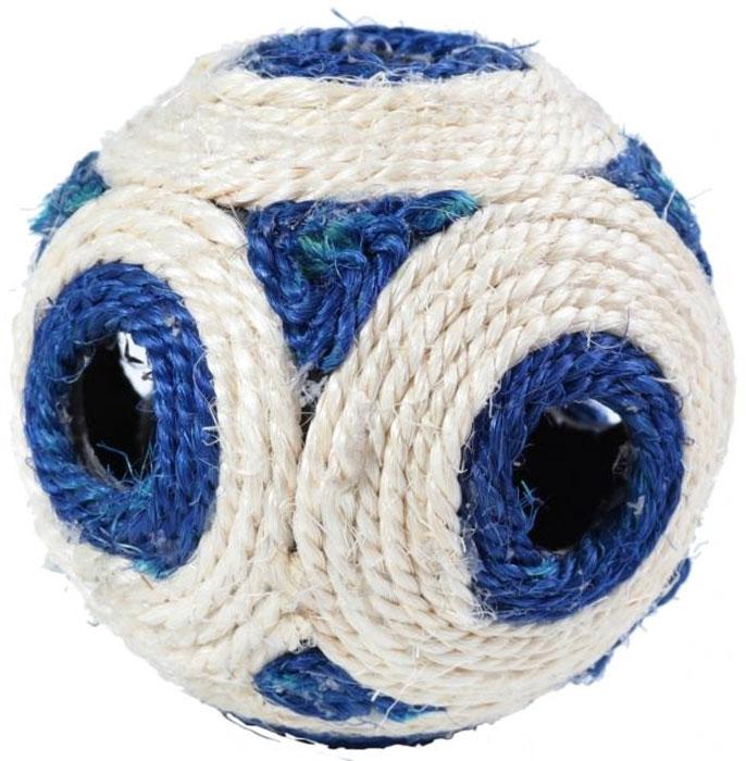 Когтеточка-шар  Уют , сизаль, 11,5 х 11,5 х 11,5 см - Когтеточки и игровые комплексы