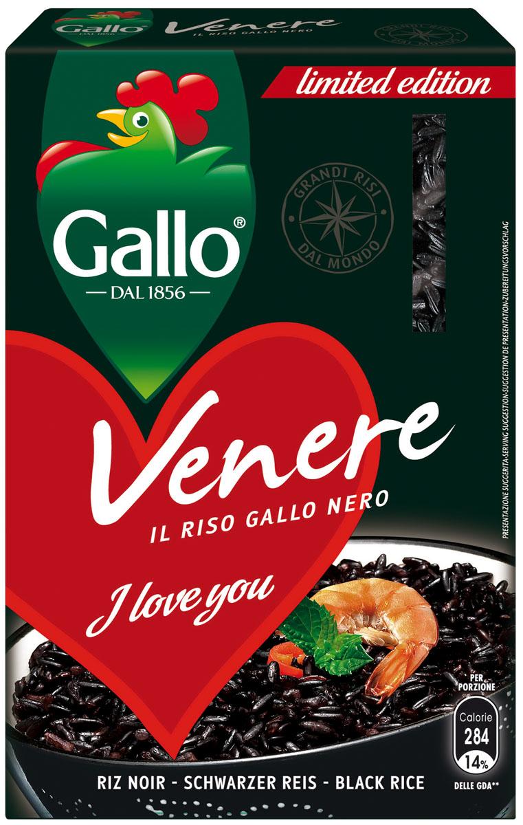 Riso Gallo Рис венере, 500 г riso gallo рис басмати 500 г