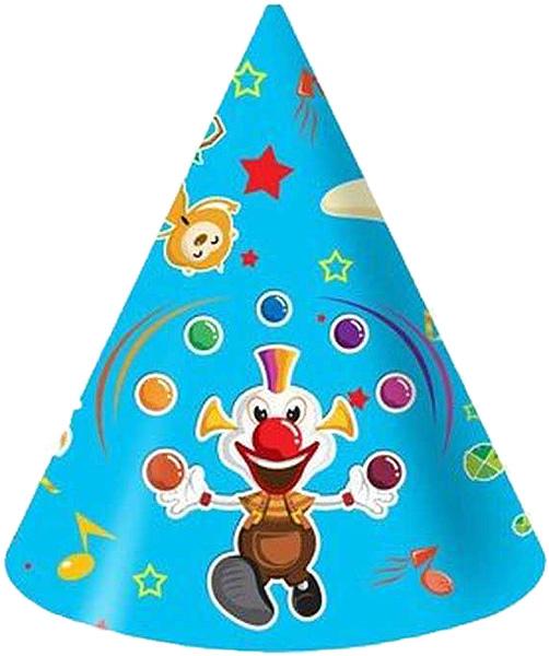 Miland Колпак карнавальный детский Веселый цирк 6 шт miland гирлянда детская с днем рождения для мужчин