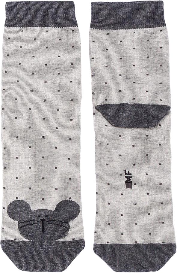 Носки детские Mark Formelle, цвет: серый меланж. B2-6400K_313. Размер 12B2-6400K_313Мягкие детские носки Mark Formelle изготовлены из хлопка. Ткань очень приятная на ощупь, хорошо тянется, не деформируясь. Эластичная резинка мягко облегает ножку ребенка, обеспечивая удобство и комфорт. Удобные и прочные носочки станут отличным дополнением к детскому гардеробу.