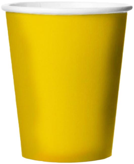Miland Стаканы бумажные Желтое солнце 6 шт -  Сервировка праздничного стола