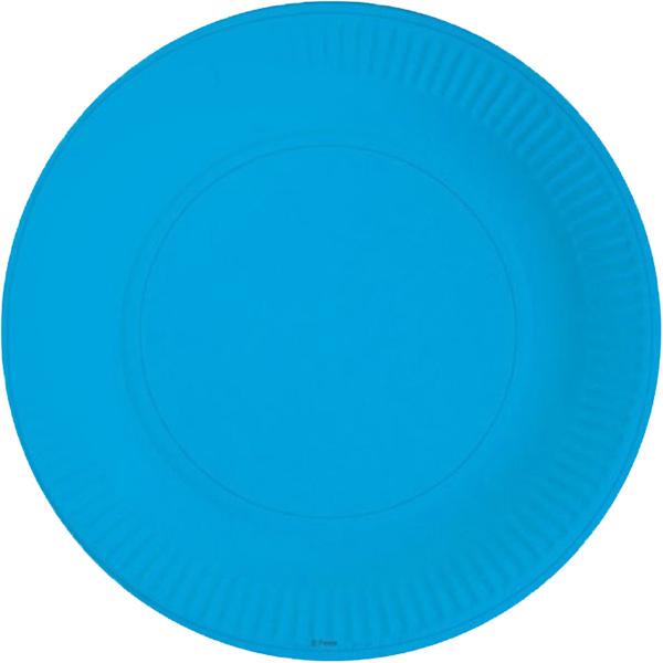Miland Тарелка бумажная Синее небо 17 см 6 шт miland тарелка бумажная футбольный матч 17 см 6 шт