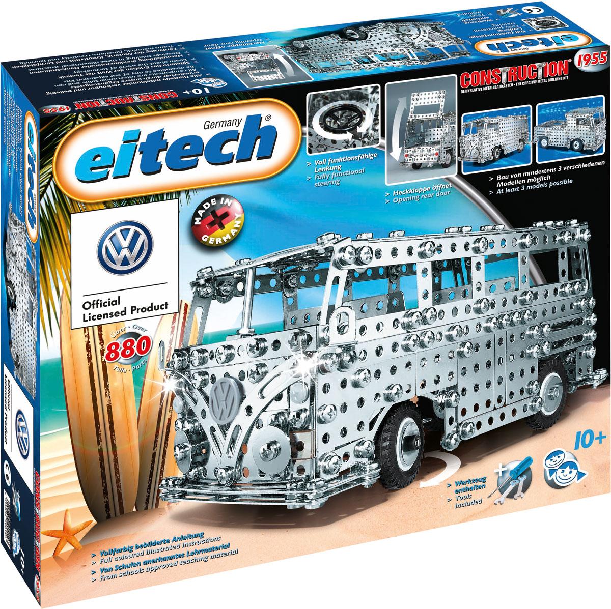 Eitech Конструктор металлический Автобус конструкторы eitech конструктор меxаник 250 деталей