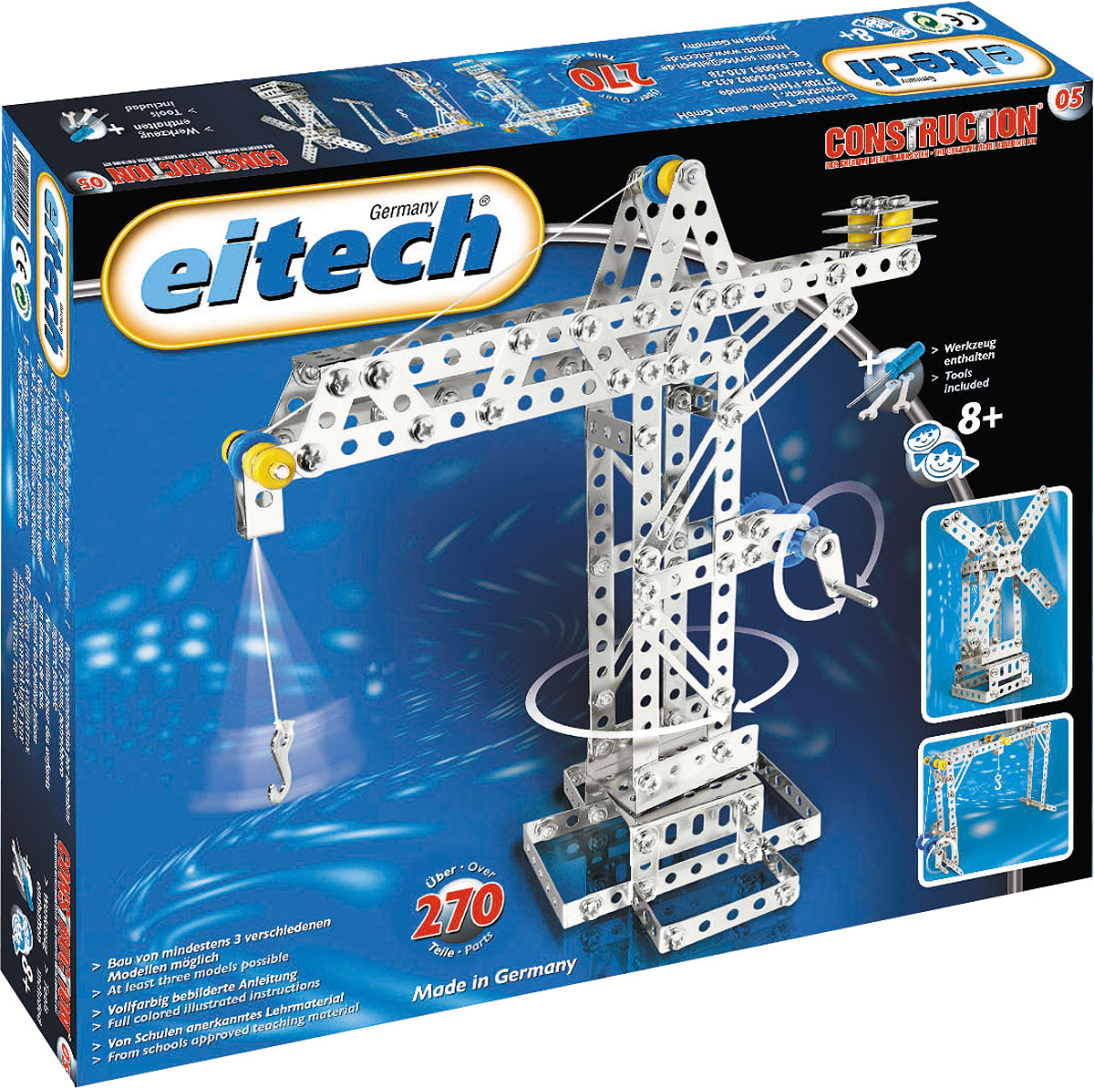 Eitech Конструктор Кран конструкторы eitech конструктор меxаник 250 деталей