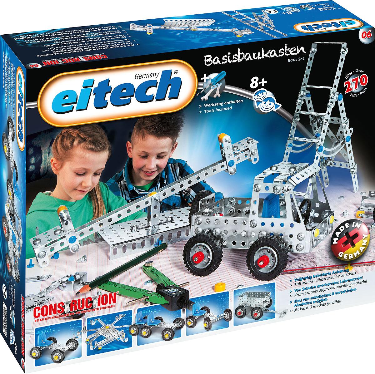Eitech Конструктор Грузовик конструкторы eitech конструктор меxаник 250 деталей
