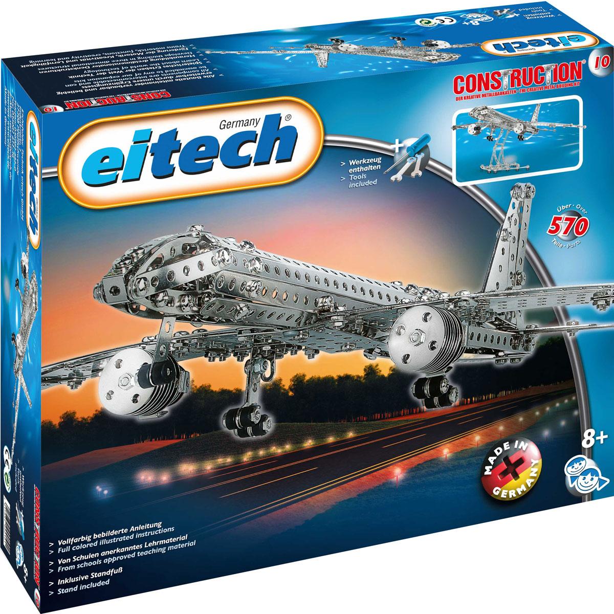 Eitech Конструктор Самолет конструкторы eitech конструктор меxаник 250 деталей