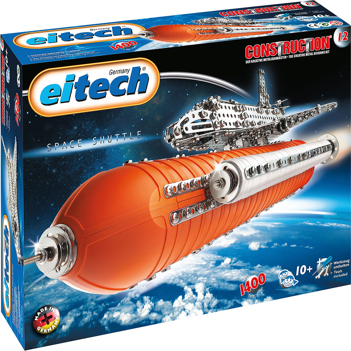 Eitech Конструктор Космический шатл конструкторы eitech конструктор меxаник 250 деталей