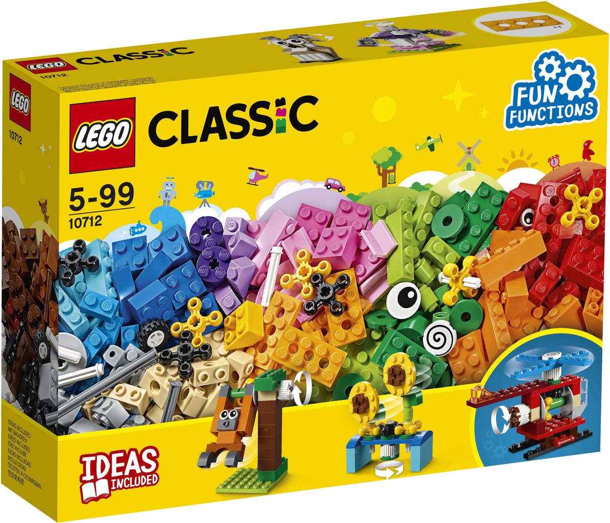 LEGO Classic Конструктор Кубики и механизмы 10712 2000708 lego education набор с запасными частями машины и механизмы 1