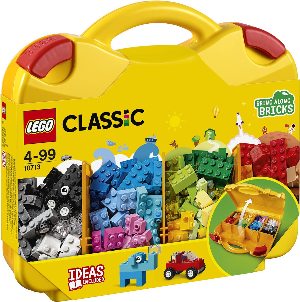 LEGO Classic Конструктор Чемоданчик для творчества и конструирования 10713 lego classic конструктор дополнение к набору для творчества яркие цвета 10693