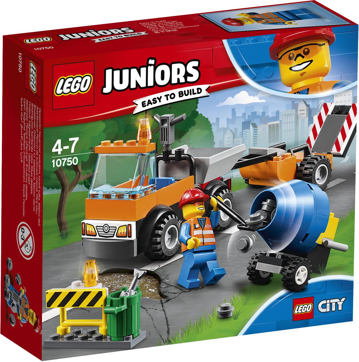 LEGO Juniors Конструктор Грузовик дорожной службы 10750