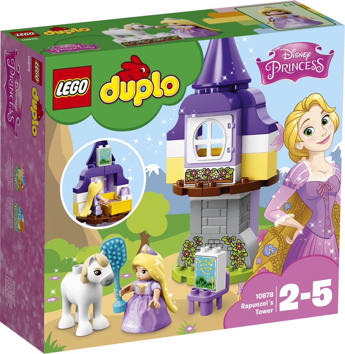 LEGO DUPLO Princess Конструктор Башня Рапунцель 10878 lego duplo my first конструктор мои первые домашние животные 10858