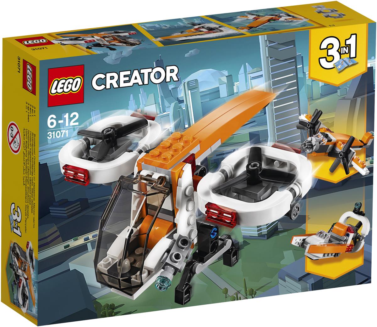 конструктор lego creator реактивный самолет 31042 LEGO Creator Конструктор Дрон-разведчик 31071