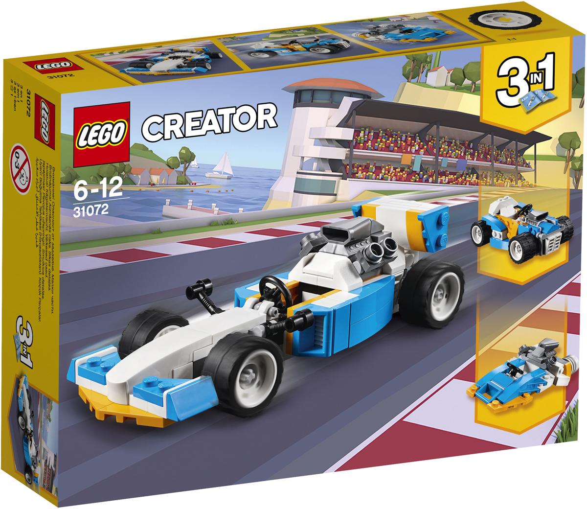 конструктор lego creator реактивный самолет 31042 LEGO Creator Конструктор Экстремальные гонки 31072