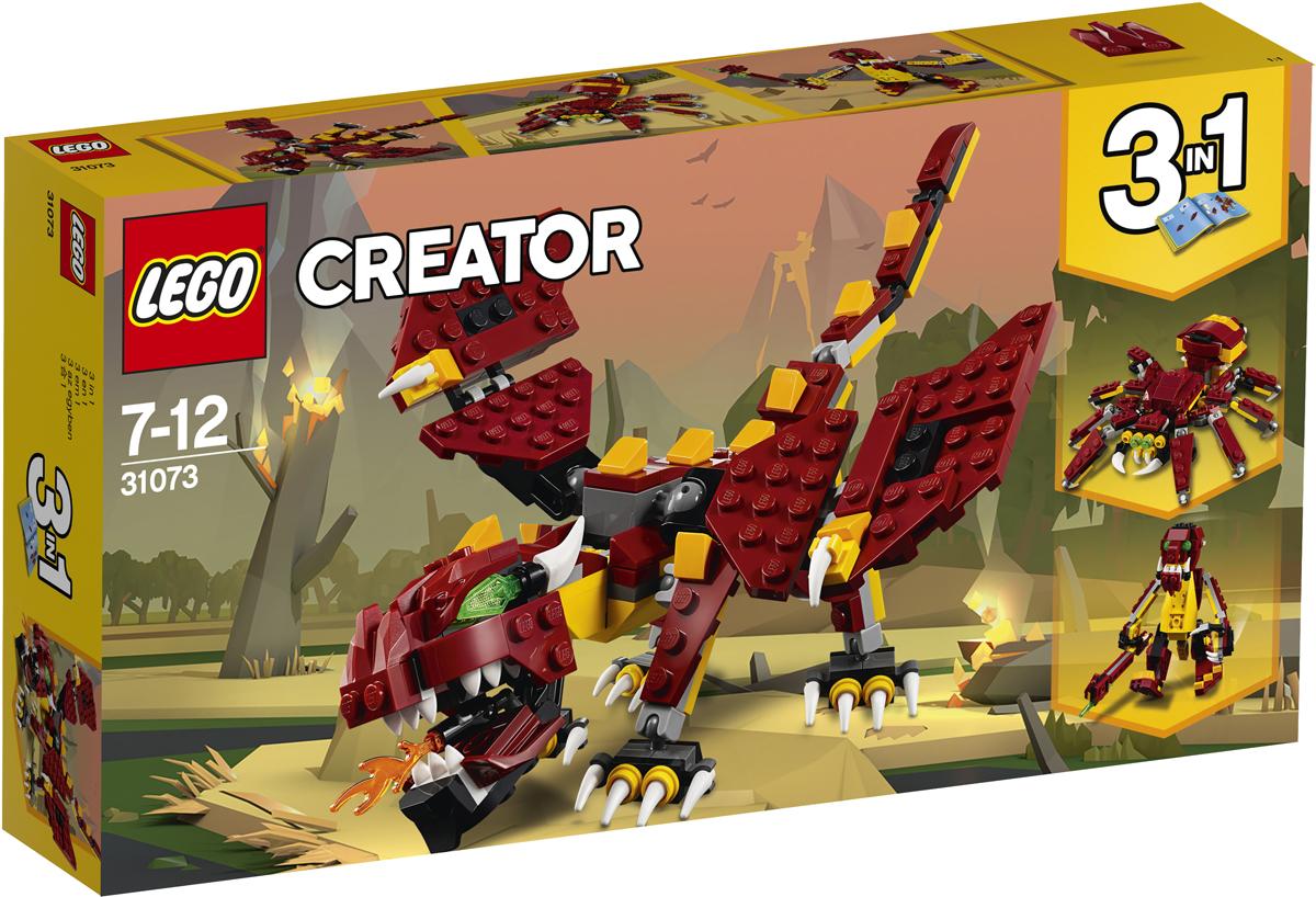 LEGO Creator Конструктор Мифические существа 31073 книги эксмо мифические существа
