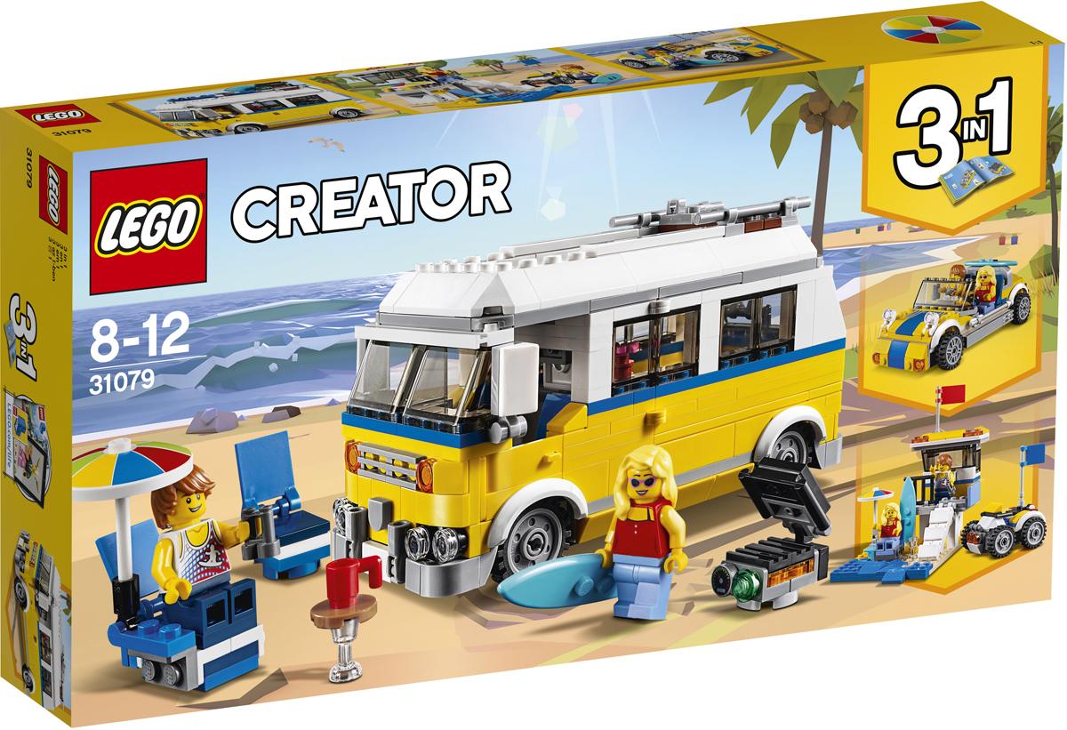 конструктор lego creator реактивный самолет 31042 LEGO Creator Конструктор Фургон серферов 31079