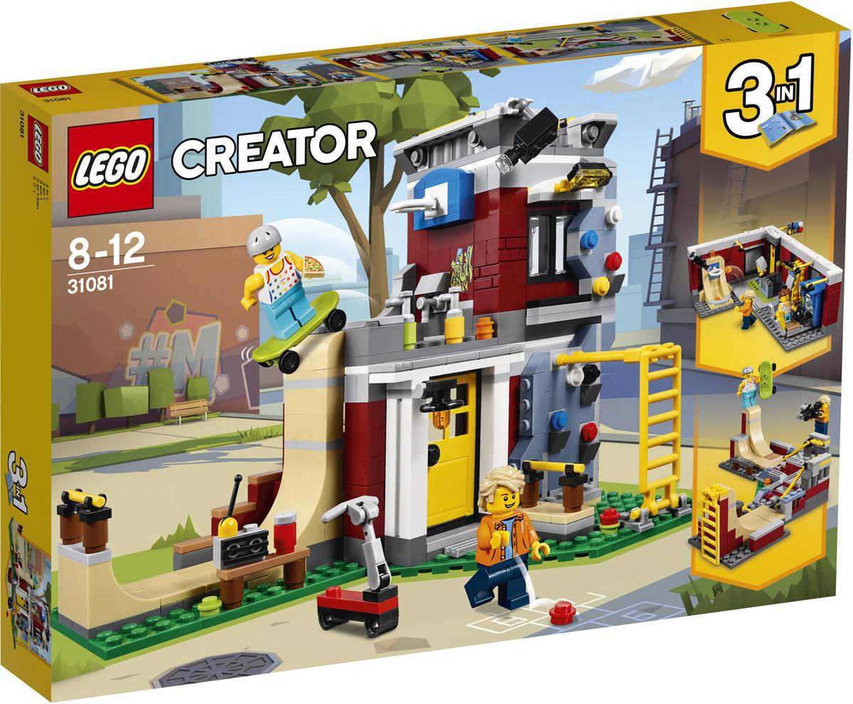 конструктор lego creator реактивный самолет 31042 LEGO Creator Конструктор Скейт-площадка Модульная сборка 31081