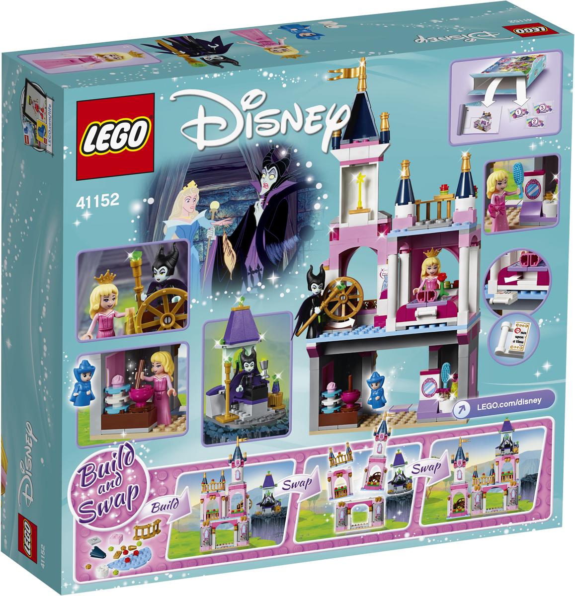 LEGO Disney Princess Конструктор Сказочный замок Спящей Красавицы 41152 конструктор lepin fairytale сказочный замок спящей красавицы 360 дет 25012