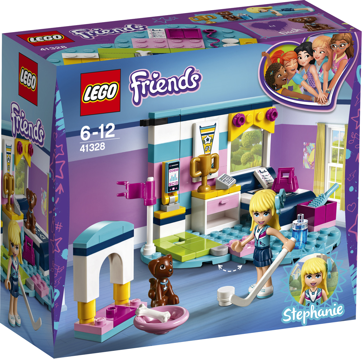 LEGO Friends Конструктор Комната Стефани 41328