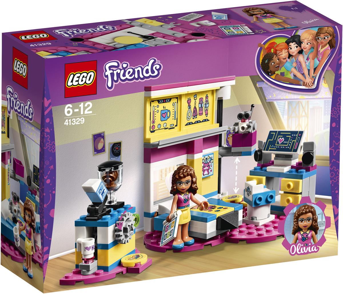 LEGO Friends Конструктор Комната Оливии 41329