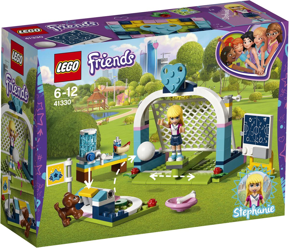 LEGO Friends Конструктор Футбольная тренировка Стефани 41330 lego friends со сменным элементом