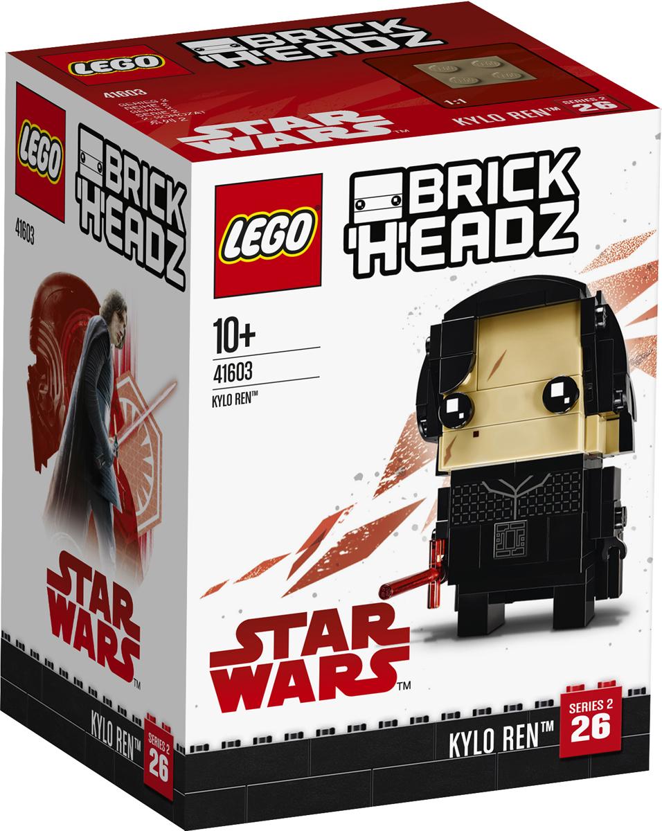 LEGO BrickHeadz Конструктор Кайло Рен 41603 lego 75104 командный шаттл кайло рена