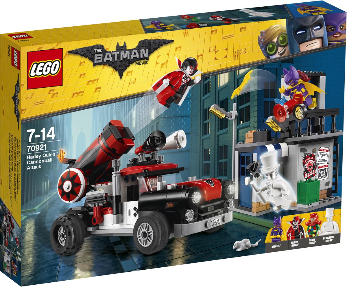 LEGO Batman Movie Конструктор Тяжелая артиллерия Харли Квинн 70921 разрушительное нападение двуликого batman movie 70915