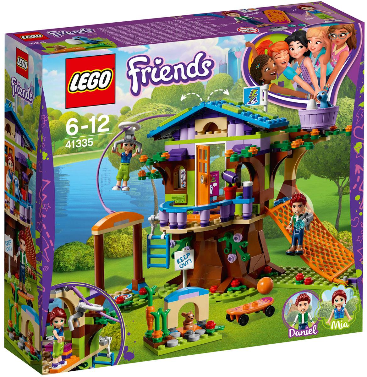LEGO Friends Конструктор Домик Мии на дереве 41335 дополнительный этаж для домика смоланд