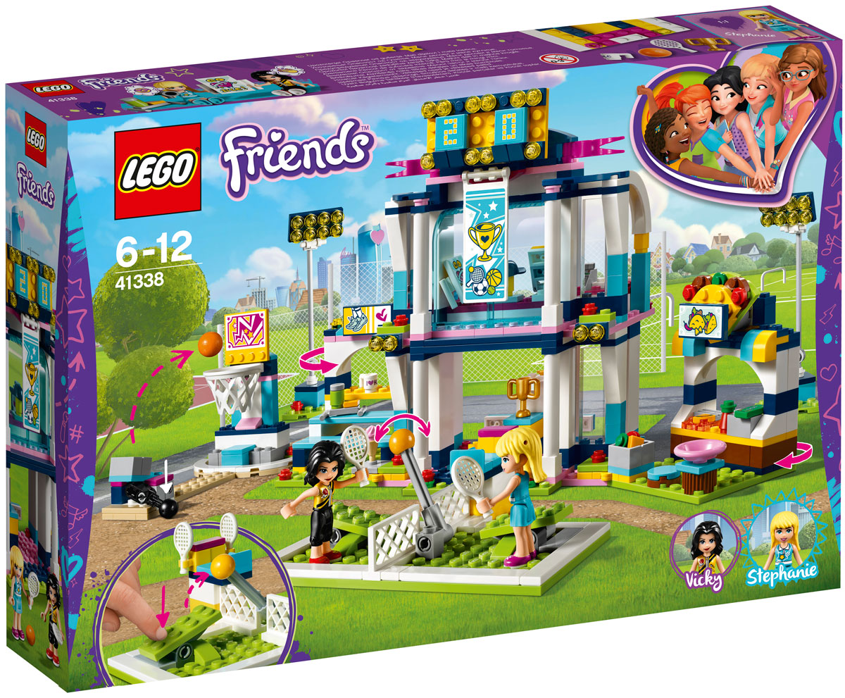 LEGO Friends Конструктор Спортивная арена для Стефани 41338