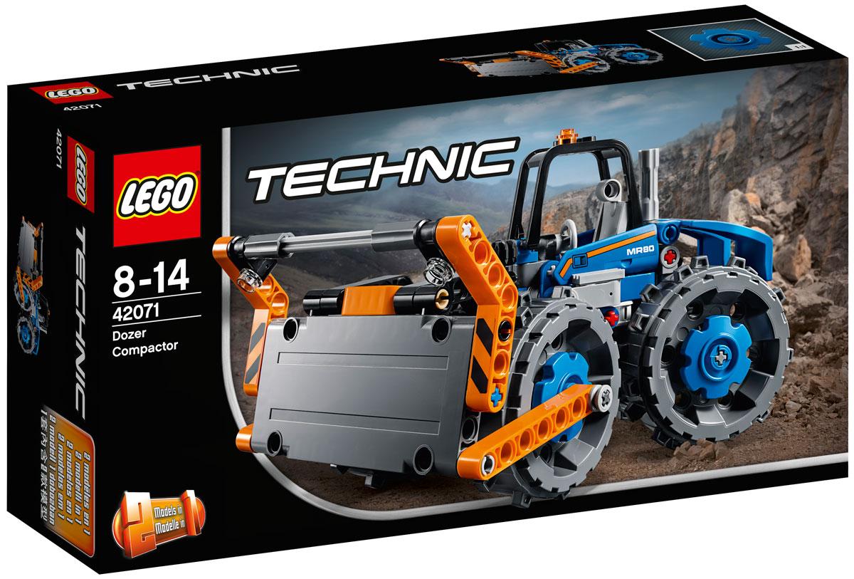 LEGO Technic Конструктор Бульдозер 42071 конструктор lego technic бульдозер 42071