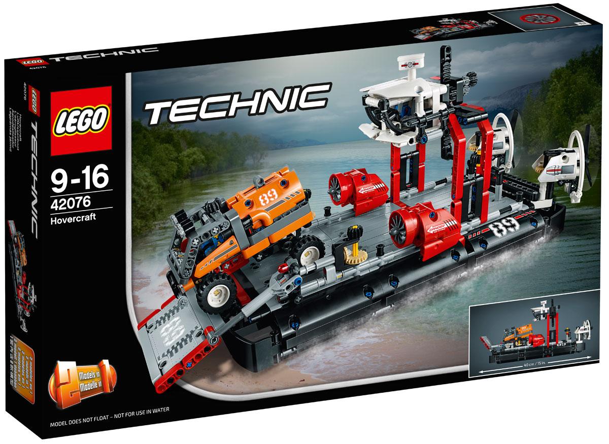 LEGO Technic Конструктор Корабль на воздушной подушке 42076 lego technic 42031 ремонтный автокран