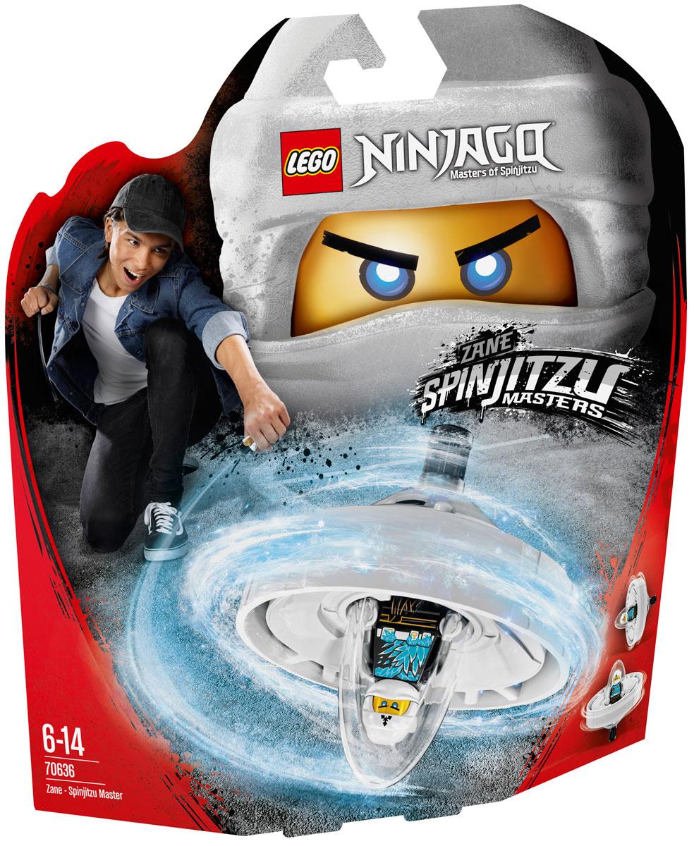 LEGO Ninjago Конструктор Зейн - Мастер Кружитцу 70636