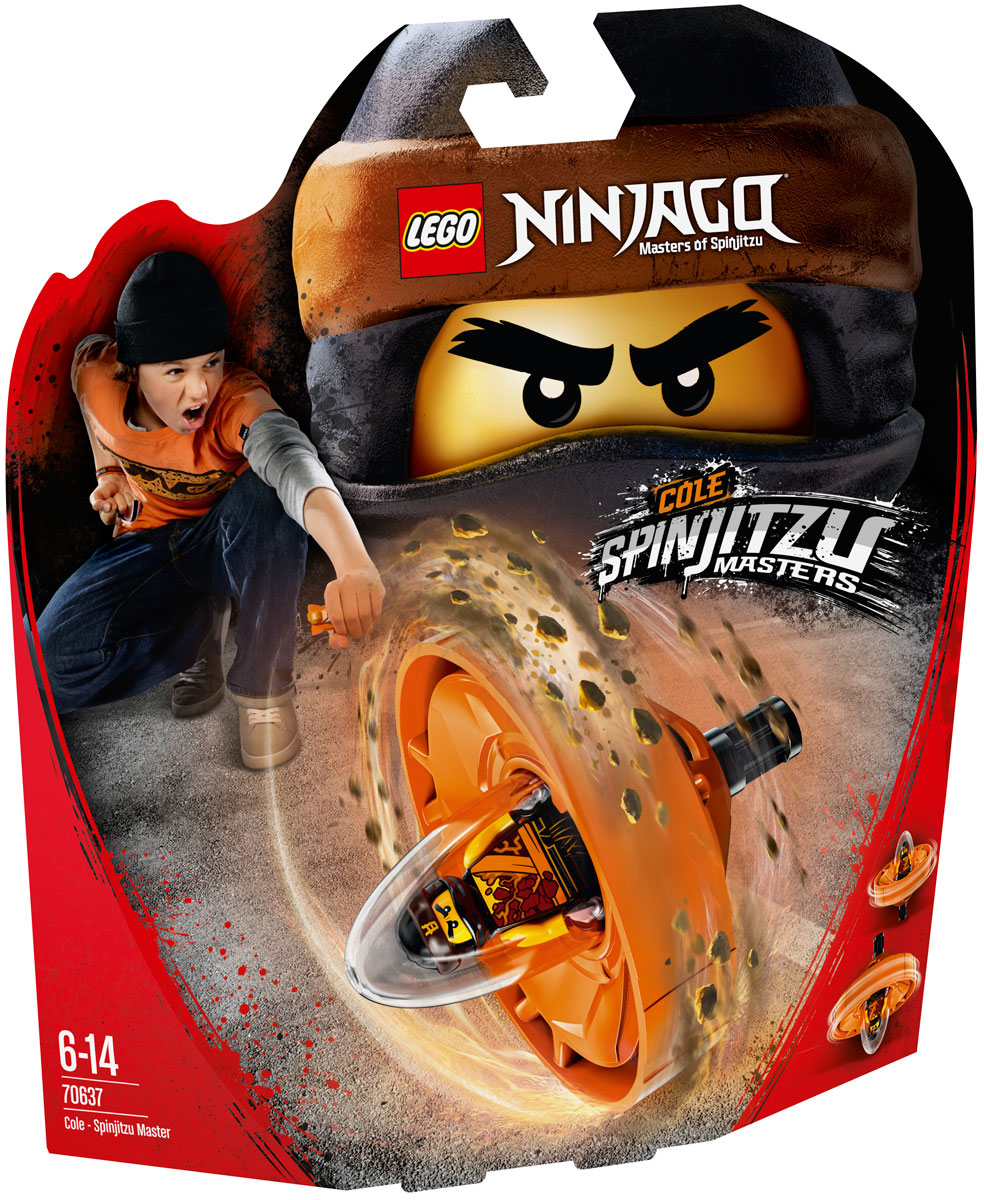 LEGO Ninjago Конструктор Коул - Мастер Кружитцу 70637
