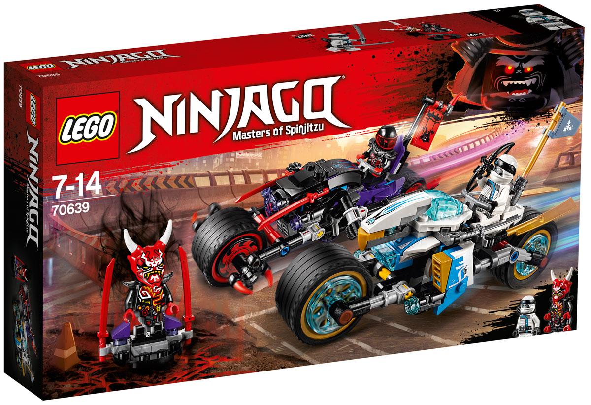 LEGO Ninjago Конструктор Уличная погоня 70639 конструктор lego ninjago ограбление киоска 70607