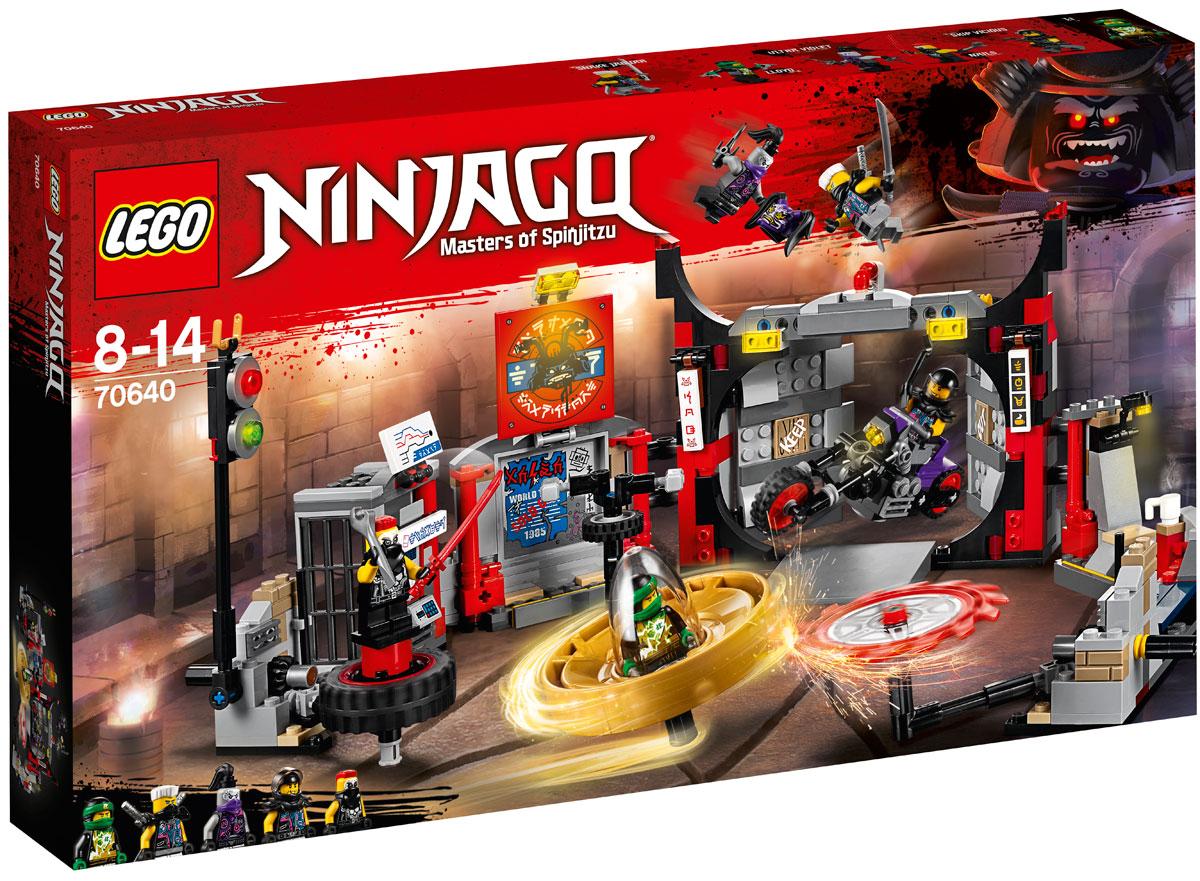 LEGO Ninjago Конструктор Штаб-квартира Сынов Гармадона 70640 конструктор lego ninjago ограбление киоска 70607