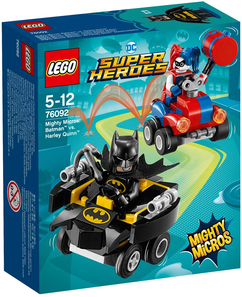 Конструктор LEGO Super Heroes DC Mighty Micros Бэтмен против Харли Квин 76092 lego super heroes конструктор mighty micros бэтмен против харли квин 76092