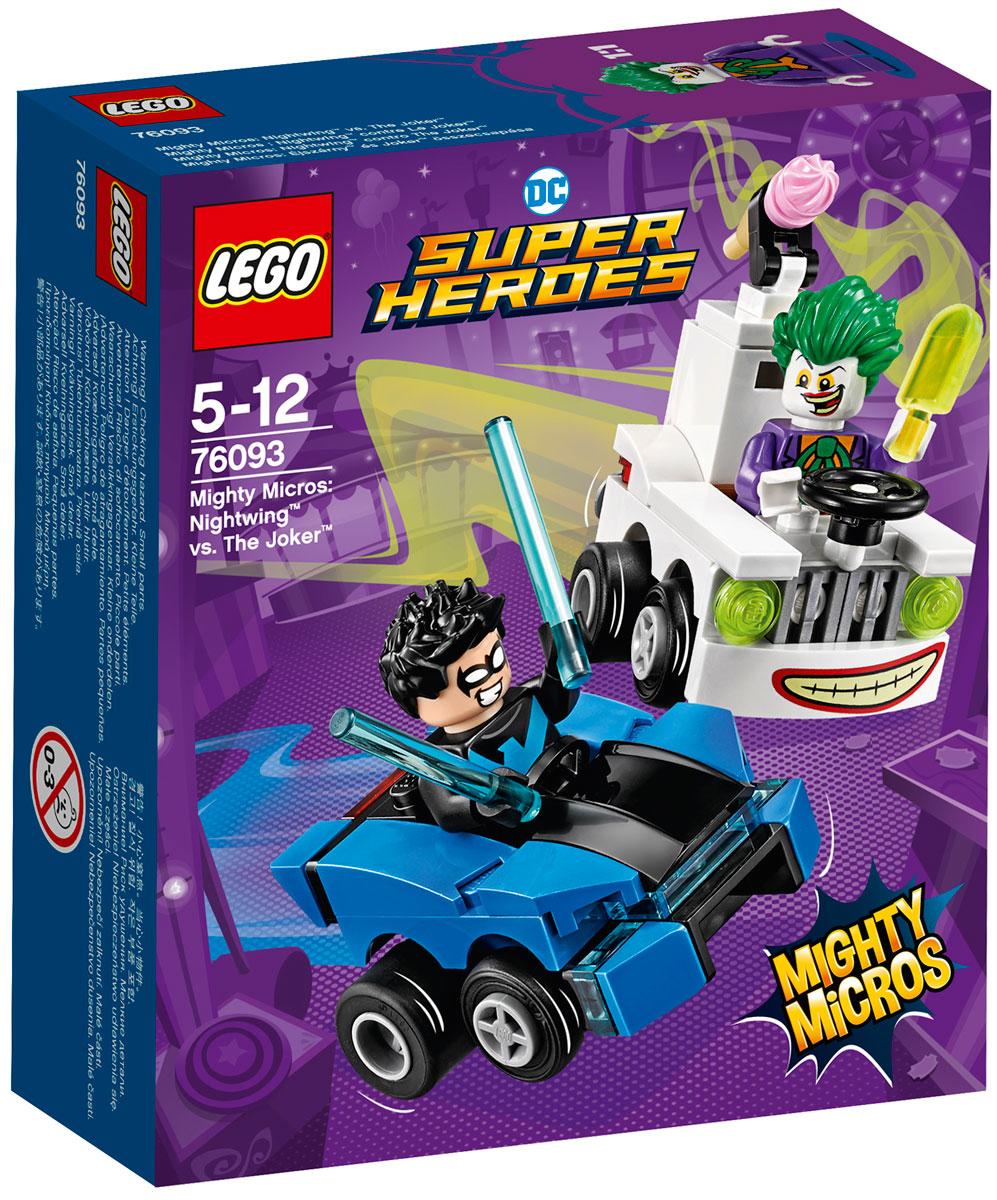 LEGO Super Heroes Конструктор Mighty Micros Найтвинг против Джокера 76093 конструктор lego marvel super heroes реактивный самолёт мстителей 76049